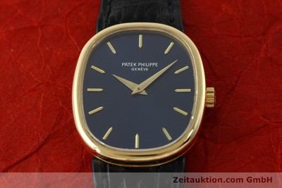 PATEK PHILIPPE LADY 18K (0,750) GOLD ELLIPSE HANDAUFZUG 4226 DAMENUHR VP:19930,- [142766]