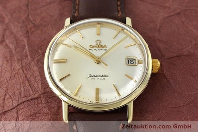 OMEGA SEAMASTER STEEL / GOLD AUTOMATIC KAL. 562 [142770]