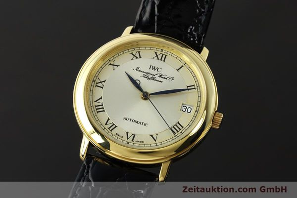 IWC PORTOFINO 18 CT GOLD AUTOMATIC KAL. 889/1 [142777]