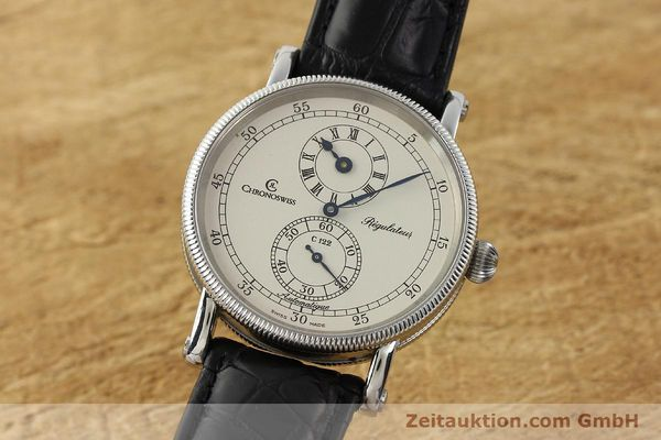 CHRONOSWISS REGULATEUR EDELSTAHL AUTOMATIK CH1223 LP: 4960,- EURO [142778]
