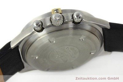 BREITLING SEXTANT CHRONOGRAPH STEEL / GOLD MANUAL WINDING KAL. LWO 1873 LP: 6960EUR [142785]