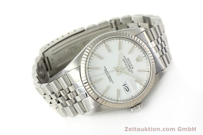 ROLEX DATEJUST STEEL / WHITE GOLD AUTOMATIC KAL. 3035 LP: 6350EUR [142794]