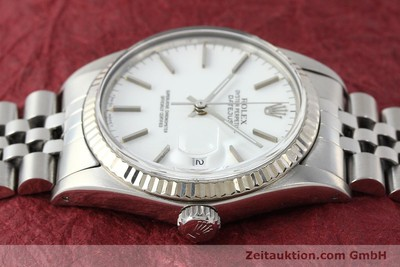 ROLEX DATEJUST ACIER / OR BLANC AUTOMATIQUE KAL. 3035 LP: 6350EUR [142794]