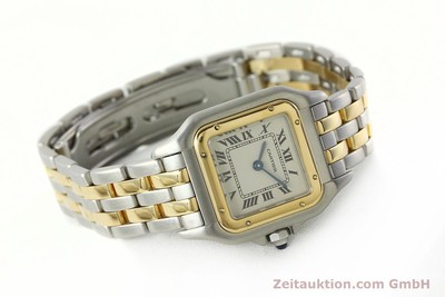 CARTIER PANTHERE ACIER / OR QUARTZ KAL. 157 [142807]