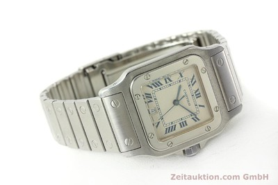 CARTIER SANTOS STEEL QUARTZ KAL. 87 LP: 5000EUR [142810]