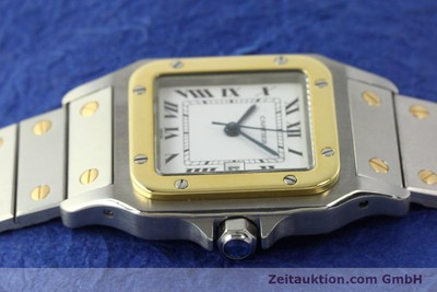 CARTIER SANTOS STEEL / GOLD AUTOMATIC KAL. ETA 2671 LP: 7100EUR [142814]