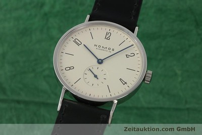 NOMOS TANGENTE STEEL MANUAL WINDING KAL. ETA 7001 LP: 1320EUR [142833]