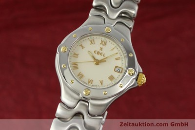 EBEL SPORTWAVE STEEL / GOLD QUARTZ KAL. 87 [142835]