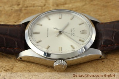 ROLEX PRECISION STEEL MANUAL WINDING KAL. 1225 LP: 4300EUR [142837]