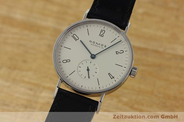 NOMOS TANGENTE STEEL MANUAL WINDING KAL. ETA 7001 LP: 1320EUR [142864]