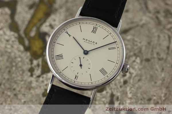 NOMOS LUDWIG STEEL MANUAL WINDING KAL. ETA 7001 LP: 1460EUR [142877]
