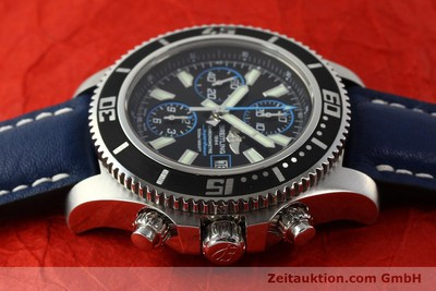 BREITLING SUPEROCEAN CHRONO II CHRONOGRAPH STAHL HERRENUHR A13341 NP: 4650,- EUR [142895]