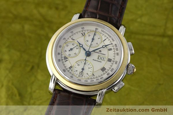 MAURICE LACROIX MASTERPIECE CHRONOGRAPH STEEL / GOLD AUTOMATIC KAL. ML 67 ETA 7750 LP: 4900EUR [142900]