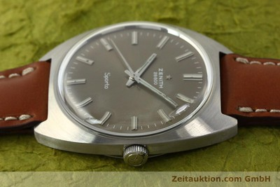ZENITH SPORTO STEEL MANUAL WINDING KAL. 2562 [142908]