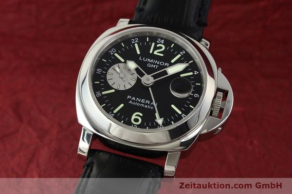PANERAI LUMINOR GMT ACIER AUTOMATIQUE KAL. 7750-P2 LP: 6600EUR  [142912]