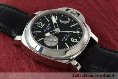 PANERAI LUMINOR GMT STEEL AUTOMATIC KAL. 7750-P2 LP: 6600EUR [142912]