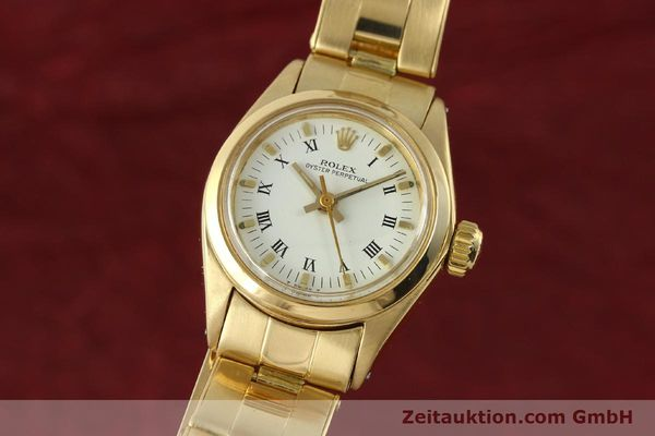 ROLEX OYSTER PERPETUAL ORO 18 CT AUTOMATISMO KAL. 2030 LP: 20600EUR [142929]