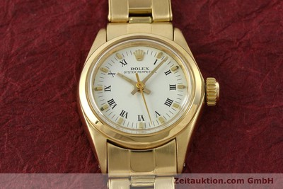 ROLEX OYSTER PERPETUAL OR 18 CT AUTOMATIQUE KAL. 2030 LP: 20600EUR [142929]