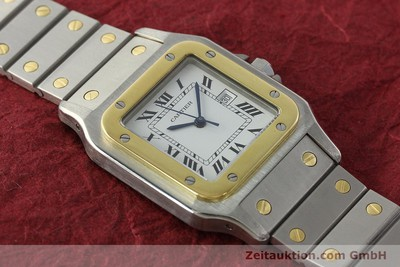 CARTIER SANTOS STEEL / GOLD AUTOMATIC KAL. ETA 2671 LP: 7100EUR [142939]