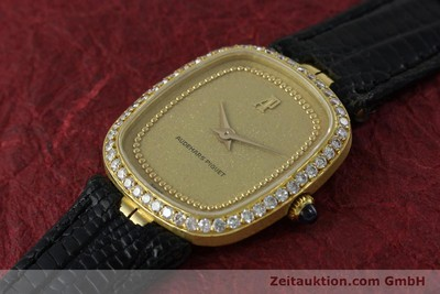AUDEMARS PIGUET LADY 18K GOLD HANDAUFZUG DIAMANTEN DAMENUHR B18662 VP: 21000,- Euro [142946]