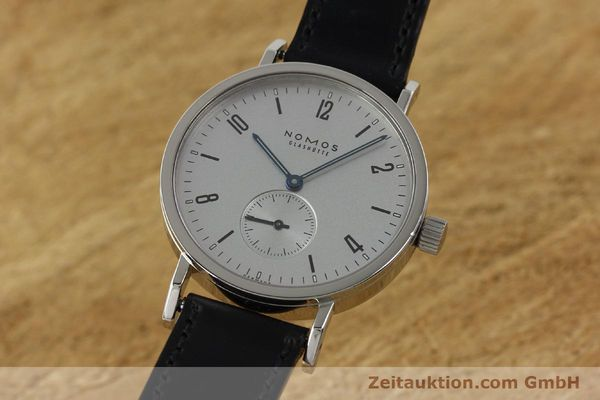 NOMOS TANGENTE SPORT STEEL MANUAL WINDING KAL. ALPHA 12620 LP: 1420EUR [142947]