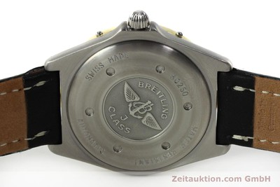 BREITLING J-CLASS ACIER / OR AUTOMATIQUE KAL. ETA 2892-2 LP: 3340EUR [142953]