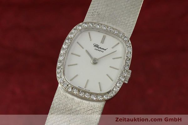 CHOPARD 18 CT WHITE GOLD MANUAL WINDING KAL. 846 [142957]