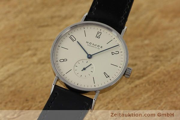 NOMOS TANGENTE STEEL MANUAL WINDING KAL. ETA 7001 LP: 1320EUR [142967]