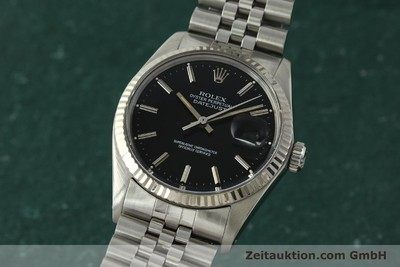 ROLEX DATEJUST STEEL / WHITE GOLD AUTOMATIC KAL. 3035 LP: 6350EUR [142971]