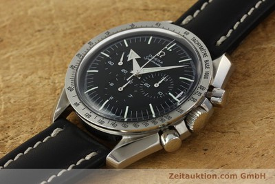 OMEGA MOONWATCH SPEEDMASTER CHRONOGRAPH BROAD ARROW HANDAUFZUG VP:4100,- EURO [142975]