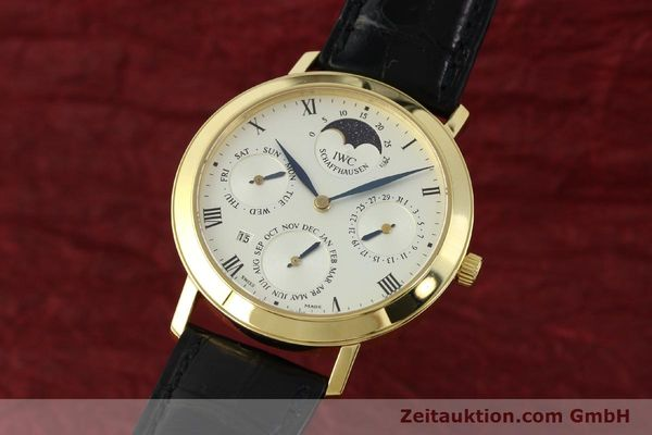 IWC EWIGER KALENDER 18 CT GOLD MANUAL WINDING KAL. 84961 [142977]