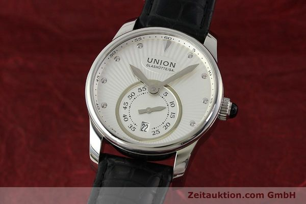 UNION GLASHÜTTE SERIS ACIER AUTOMATIQUE KAL. U2895-2 ETA 2895-2 LP: 1250EUR  [142979]