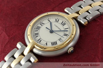 CARTIER PANTHERE STEEL / GOLD QUARTZ KAL. 83 LP: 5600EUR [142981]
