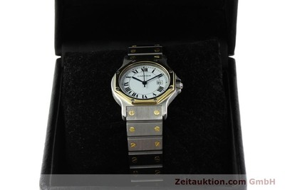 CARTIER SANTOS STEEL / GOLD AUTOMATIC KAL. ETA 2671 LP: 7100EUR [142983]