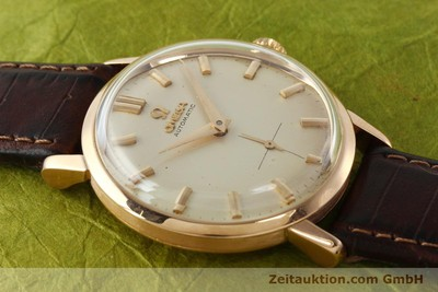 OMEGA 18 CT RED GOLD AUTOMATIC KAL. 491 [142984]