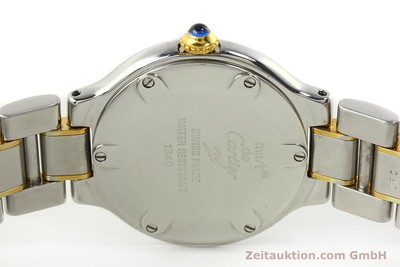 CARTIER LIGNE 21 STEEL / GOLD QUARTZ KAL. 90.06 [142993]