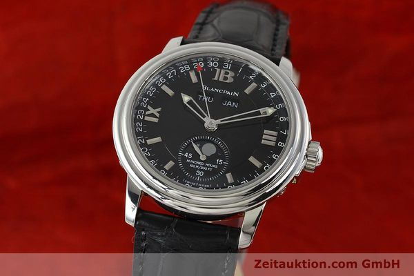 BLANCPAIN LEMAN VOLL KALENDER MONDPHASE AUTOMATIK HUNDRED HOURS VP: 9220,- EUR [142995]