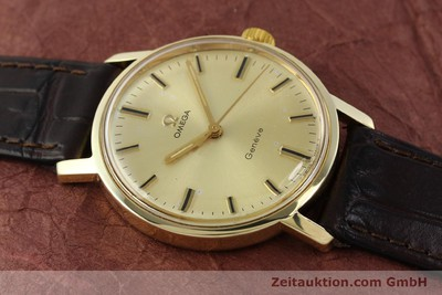 OMEGA 14 CT YELLOW GOLD MANUAL WINDING KAL. 501 [142996]
