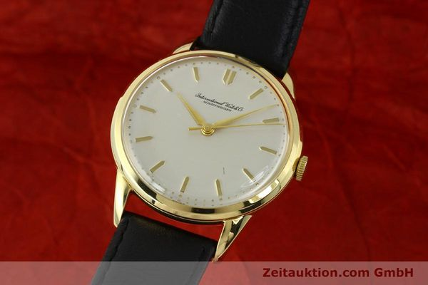 IWC PORTOFINO 18 CT GOLD MANUAL WINDING KAL. 89 VINTAGE [143004]