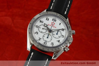 OMEGA SPEEDMASTER CHRONOGRAPH BROAD ARROW OLYMPIC TIMEKEEPER VP: 5420,- EUR [143012]