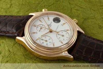 BAUME & MERCIER 18K GOLD BAUMATIC CHRONOGRAPH HERRENUHR MV045149 VP: 15900,-EURO [143019]