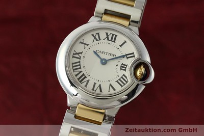 CARTIER BALLON BLEU DE CARTIER STEEL / GOLD QUARTZ KAL. 057 LP: 5950EUR [143035]