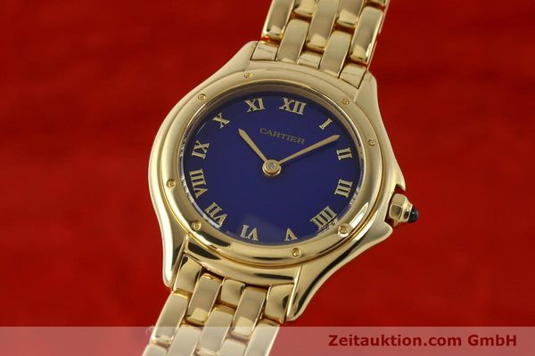 CARTIER COUGAR ORO 18 CT QUARZO KAL. 90.06 VP: 19600EUR [143037]