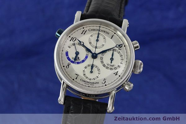 CHRONOSWISS TORA CHRONOGRAPHE ACIER AUTOMATIQUE KAL. 743 LP: 6800EUR  [143038]