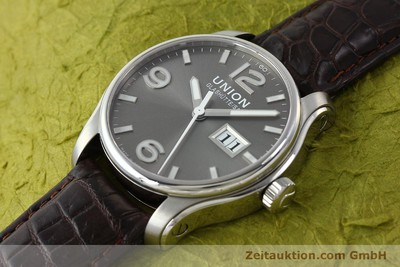 UNION GLASHÜTTE BELISAR ACIER AUTOMATIQUE KAL. U2896 LP: 1750EUR [143040]