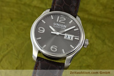 UNION GLASHÜTTE BELISAR STEEL AUTOMATIC KAL. U2896 LP: 1750EUR [143040]