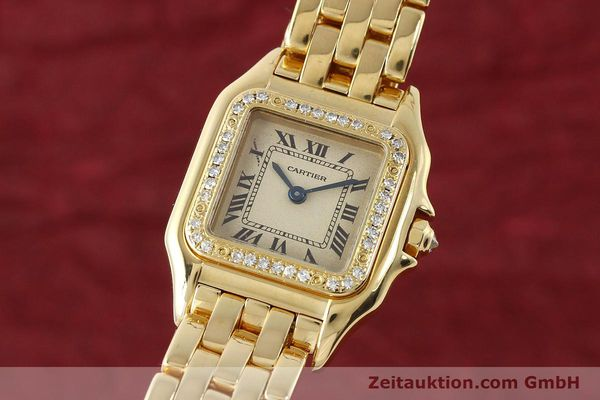 CARTIER PANTHERE ORO 18 CT QUARZO KAL. 057 [143047]