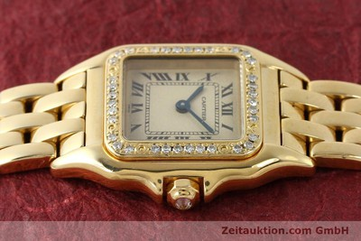 CARTIER PANTHERE 18 CT GOLD QUARTZ KAL. 057 [143047]