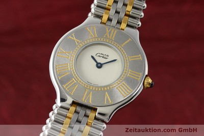 CARTIER LIGNE 21 GILT STEEL QUARTZ KAL. 90 [143048]