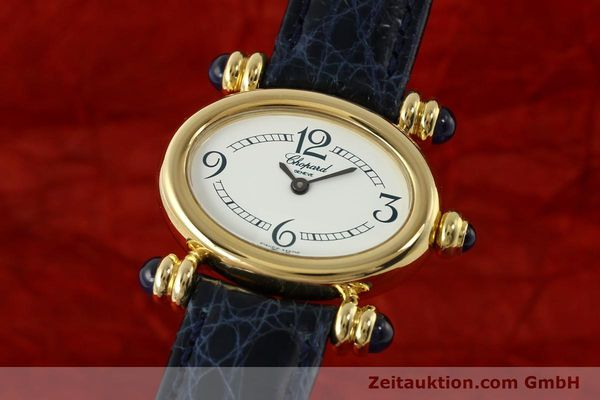 CHOPARD LADY 18K (0,750) GELB GOLD DAMENUHR DESIGN KLASSIKER [143050]
